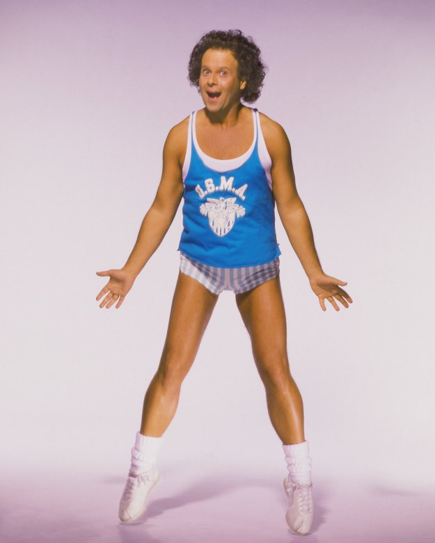 LOS ANGELES - 1992: Actor Richard Simmons poses for a portrait in 1992 in Los Angeles, California. (Photo by Harry Langdon/Getty Images)